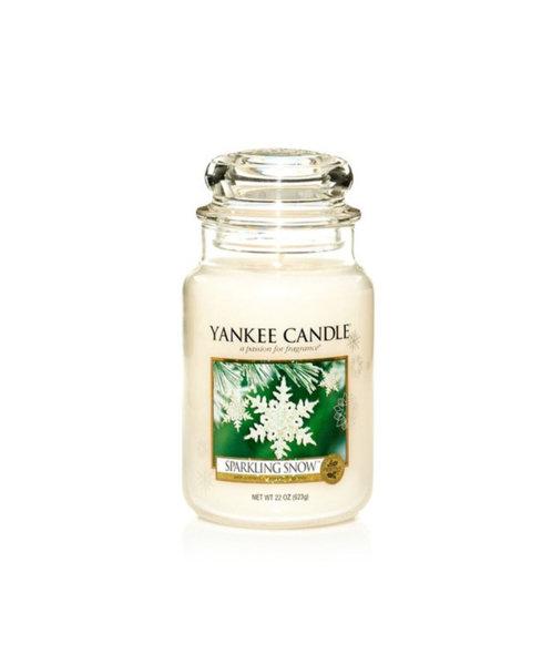 Yankee Candle ароматна свещ SPARKLING SNOW